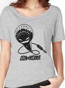 Mic-Check Women's Relaxed Fit T-Shirt