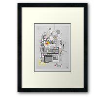 Crap Stuff Framed Print