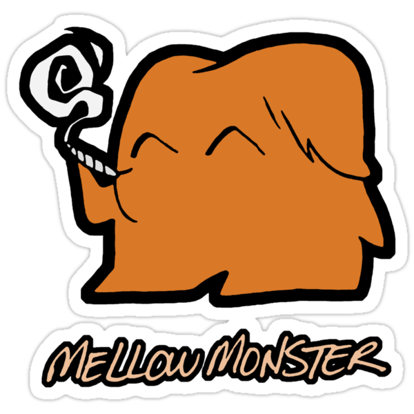 Mellow Monster by Sheep-n-Wolves