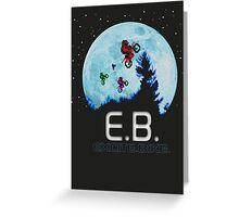 E.B. Extraterrestrial.Bike? Greeting Card