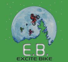 E.B. Extraterrestrial.Bike? Kids Tee