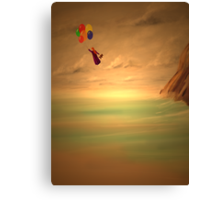 Today we fly... Canvas Print