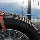 Vintage Car Spare Wheel by Flo Smith