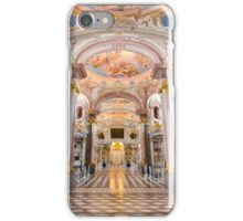 Inside the abbey library of Admont iPhone Case/Skin