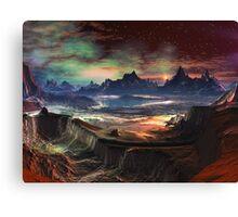 Firewalk Canyon Canvas Print