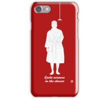 Hitch is quite nervous in the shower iPhone Case/Skin