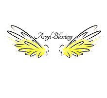 Archangel Uriel: Angel Blessings Photographic Print