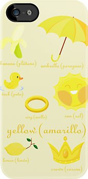 Colors: yellow (Los colores: amarillo) by alapapaju
