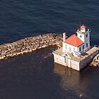 Oswego Harbor Light by wolftinz