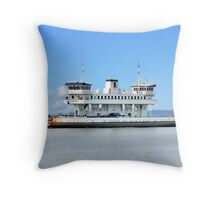 Jamestown Ferry Throw Pillow