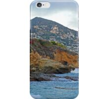 Cloudy Day on Treasure Island iPhone Case/Skin