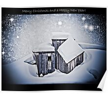 Merry Christmas and a Happy New Year Poster