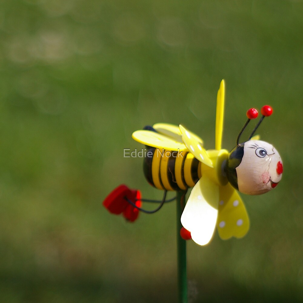 Don't worry, BEE happy by Eddie Nock