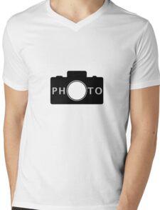Photo camera Mens V-Neck T-Shirt