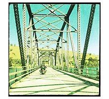 Crossing the Bethanga Bridge Photographic Print