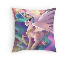 Deity of the Dawn Throw Pillow