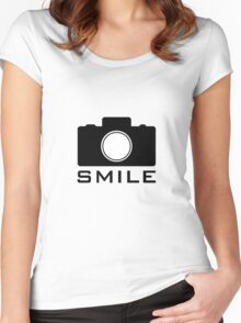 Smile Women's Fitted Scoop T-Shirt