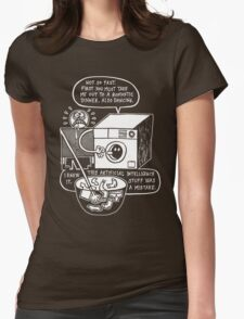 Rise of the Machine Womens Fitted T-Shirt