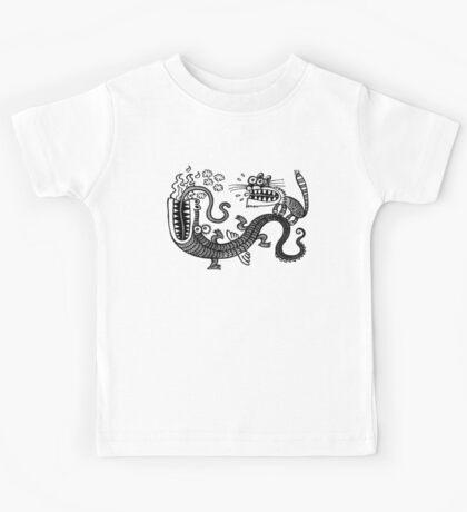 Tiger & Dragon Kids Tee