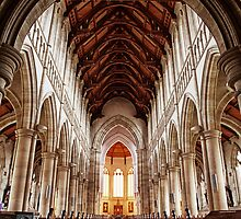Sacred Heart Cathedral, Bendigo by Maree Cardinale