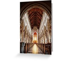 Sacred Heart Cathedral, Bendigo Greeting Card