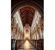 Sacred Heart Cathedral, Bendigo Photographic Print