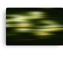 Green & Yellow Canvas Print