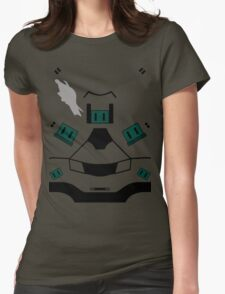 Master Chief Halo 4 Armour Womens Fitted T-Shirt