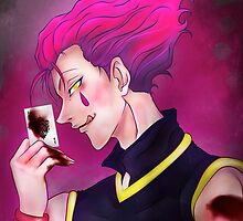 Hisoka the Magician [ Hunter x Hunter 2011 ] by rikkichan