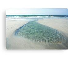 Tidal Pool Logans Lagoon Canvas Print