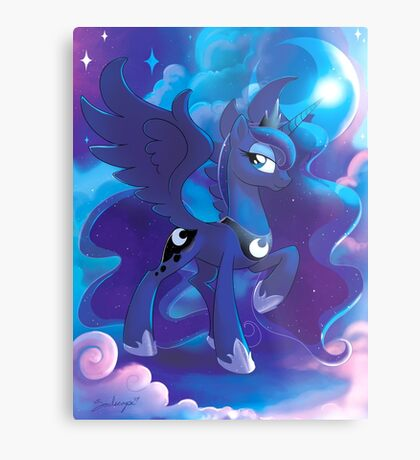 Princess Luna Metal Print
