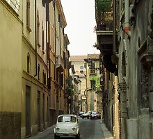 Cinquecento Fiat 500 - Verona by Flo Smith