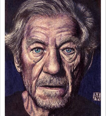 Sir Ian Mckellen Sticker