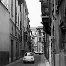 Cinquecento Fiat 500 Verona BW by Flo Smith