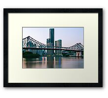 The Story Bridge Framed Print
