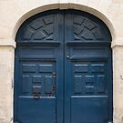 Paris Blue Door by Flo Smith