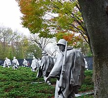 Korean War Memorial - Washington D.C. by Bine