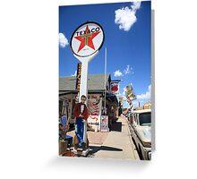 Route 66 - Seligman, Arizona Greeting Card