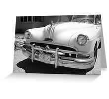 Route 66 - Classic Car Greeting Card