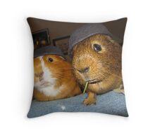 Commando Pigs Throw Pillow