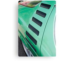 Alfa Romeo Montreal Side Vents Canvas Print