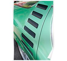 Alfa Romeo Montreal Side Vents Poster