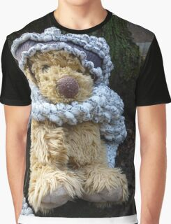 Puppy In A Shawl: Winter Is Cold Graphic T-Shirt