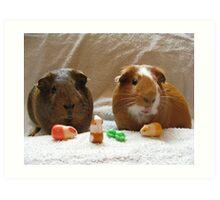 Piggie Playtime Art Print