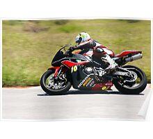 Honda superbike Poster
