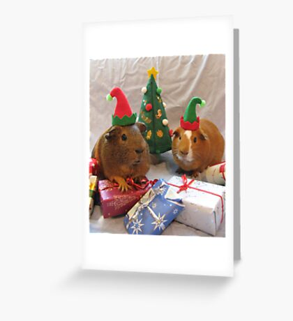 Santa's Little Helpers Greeting Card