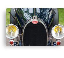 Bugatti Grille Marque2 Canvas Print