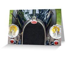Bugatti Grille Marque2 Greeting Card