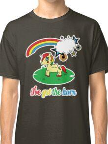 Cheeky Unicorn  - I've Got the Horn (Adult Version) Classic T-Shirt