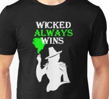 Wicked Always Wins (b&w) Unisex T-Shirt